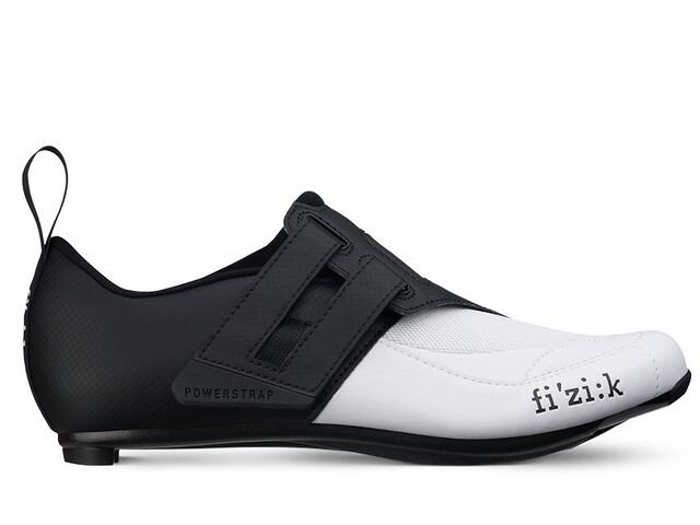Fizik Transiro Powerstrap R4 Triathlonschuhe schwarz/weiß